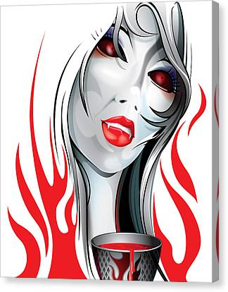 Blood Lust  Canvas Print