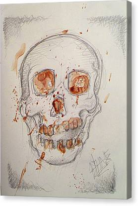 Bloodskull Canvas Print