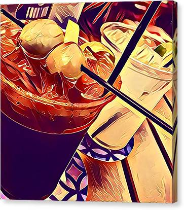 Bloody Mary And Moscow Mule Canvas Print by Frush Photos