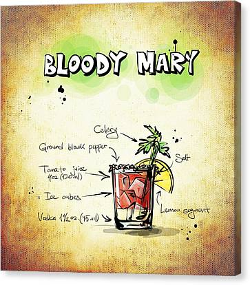 Bloody Mary Canvas Print by Movie Poster Prints