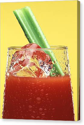 Bloody Mary Canvas Print by Steven Huszar