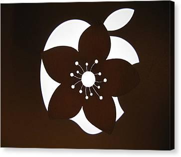 Blooming Apple Mac Canvas Print