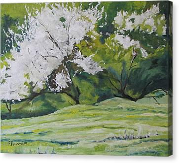 Blooming Canvas Print by Francois Fournier