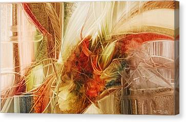 Blooming In The Dawn Canvas Print by Fatima Stamato
