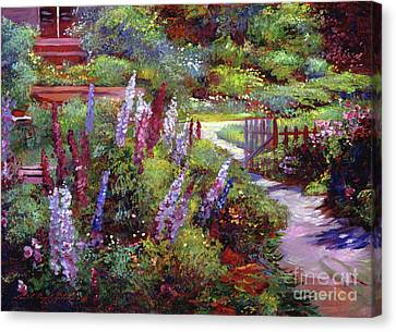 Blooming Splendor Canvas Print by David Lloyd Glover