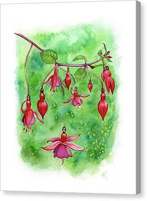 Blossom Fairies Canvas Print