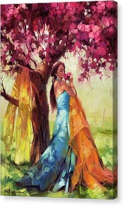 Blossom Canvas Print by Steve Henderson