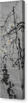 Blossoms Canvas Print by Min Wang