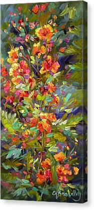 Blossoms Of Hope Canvas Print by Chris Brandley