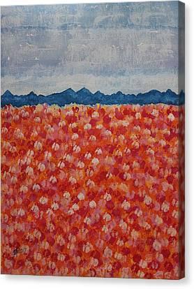Blossomtime Original Painting Canvas Print