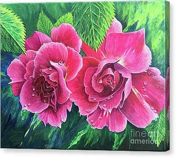 Blossum Buddies Canvas Print