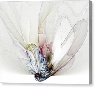 Blow Away Canvas Print