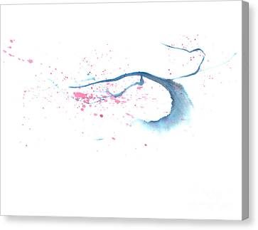 Blowing In The Wind I Canvas Print by Mui-Joo Wee