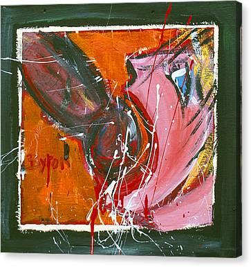 Blowjob #2 Canvas Print by Byron Gordon