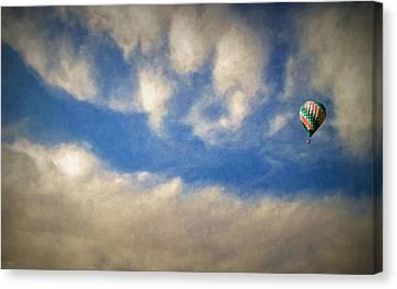 Blown Into A Soft Sky Canvas Print