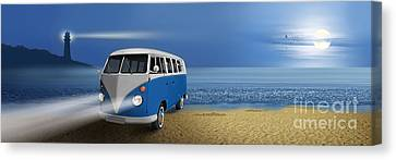 Blue ... Beach ... Bulli Canvas Print
