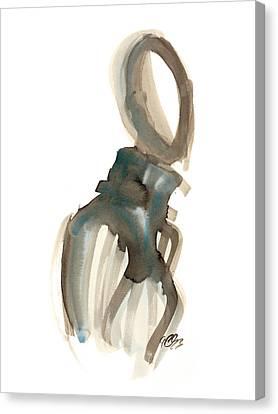 Blue 2 Canvas Print by Carl Griffasi
