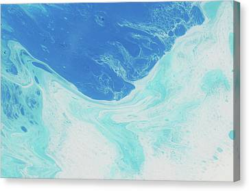 Blue Abyss Canvas Print by Nikki Marie Smith