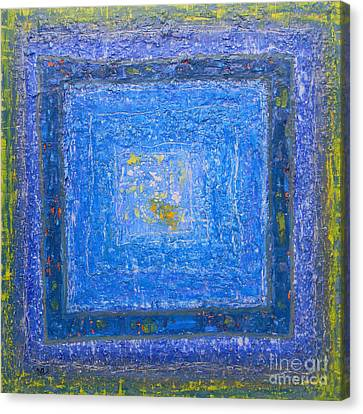 Blue Canvas Print by Adel Nemeth