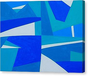 Blue Alet Canvas Print by Dick Sauer