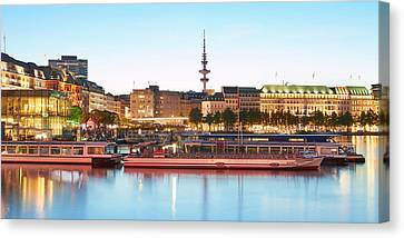 Canvas Print - Blue Alster by Marc Huebner