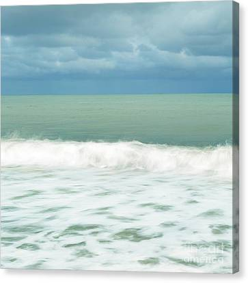 Blue And Green Canvas Print by Tony Higginson
