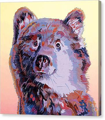 Blue Bear Canvas Print by Bob Coonts