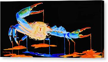 Blue Crab Two Canvas Print