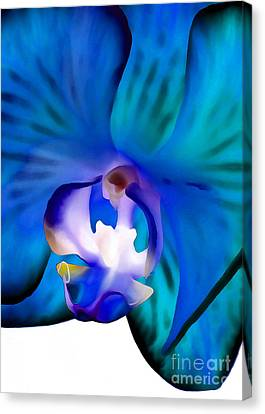 Blue Daydream Canvas Print by Krissy Katsimbras