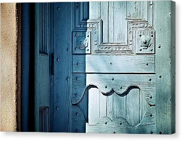 Blue Door Canvas Print by Humboldt Street