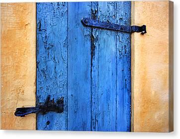 Blue Door Canvas Print by Robert Lacy