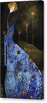 Blue Dreams Canvas Print by Maya Manolova