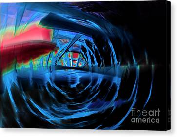 Blue Energy Canvas Print by Tamme Maurer