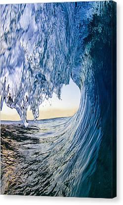 Blue Envelope - Vertical Canvas Print by Sean Davey