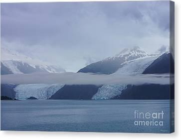 Blue Escape In Alaska Canvas Print by Jennifer White