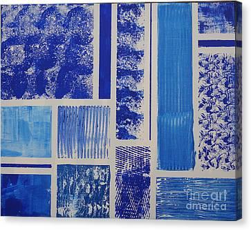 Blue Expo Canvas Print