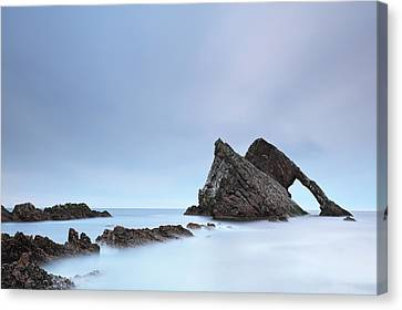 Canvas Print featuring the photograph Blue Fiddle by Grant Glendinning