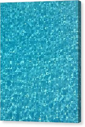 Glimpse In The Pool Canvas Print