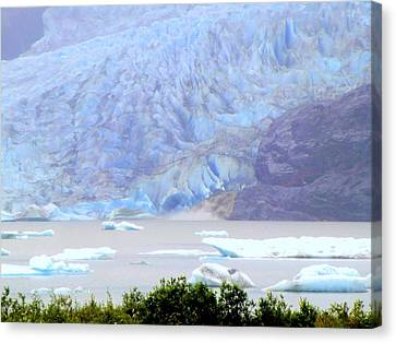 Blue Glacier Canvas Print