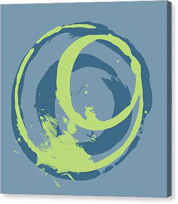 Blue Green 2 Canvas Print by Julie Niemela