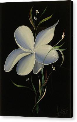 Blue Hand Canvas Print by Venyamin Astashov