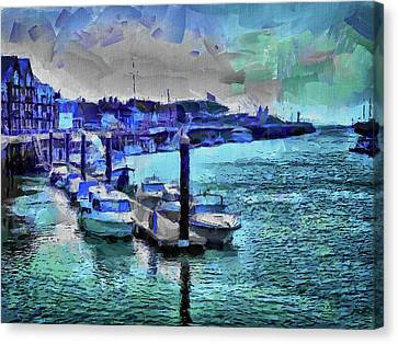 Blue Harbour Canvas Print