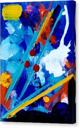 Blue Harmony  #128 Canvas Print by Donald k Hall