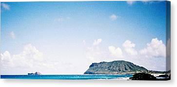 Canvas Print featuring the photograph Blue Hawaii by Judyann Matthews
