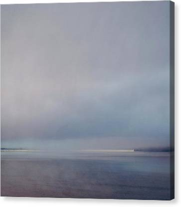 Canvas Print featuring the photograph Blue Haze by Sally Banfill
