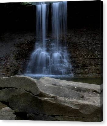 Blue Hen Falls Canvas Print by Dan Sproul