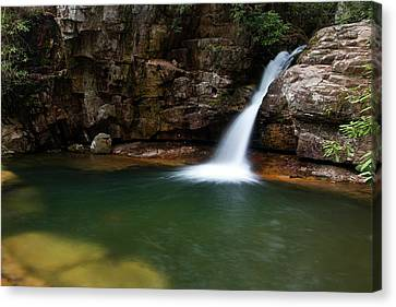 Blue Hole In Spring 2017 IIi Canvas Print