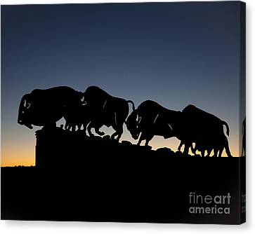 Blue Hour 16x20 Canvas Print by Melany Sarafis