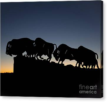 Blue Hour 24x20  Canvas Print by Melany Sarafis