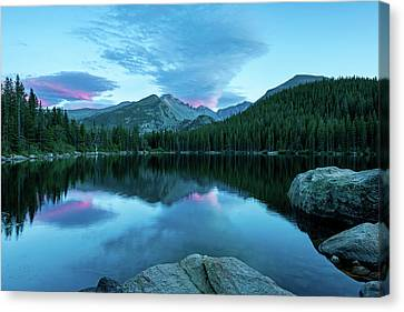 Blue Hour At Bear Lake-thomasschoeller.photography Canvas Print